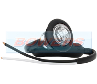 White LED Button Marker Lamp