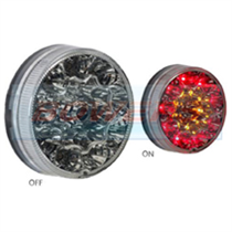 Sim 3188 12v/24v 90mm Round LED Combination Rear Lamp/Light