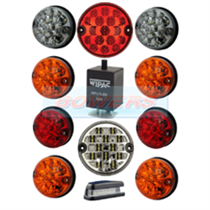 Land Rover Defender Traditional Coloured 11 LED Lamp/Light Complete Upgrade Kit RDX/Wipac
