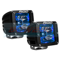 Rigid Industries Radiance LED Pods With Blue Back Lighting