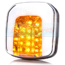 WAS W169 12v/24v Universal Neon LED Front Combination Light Lamp