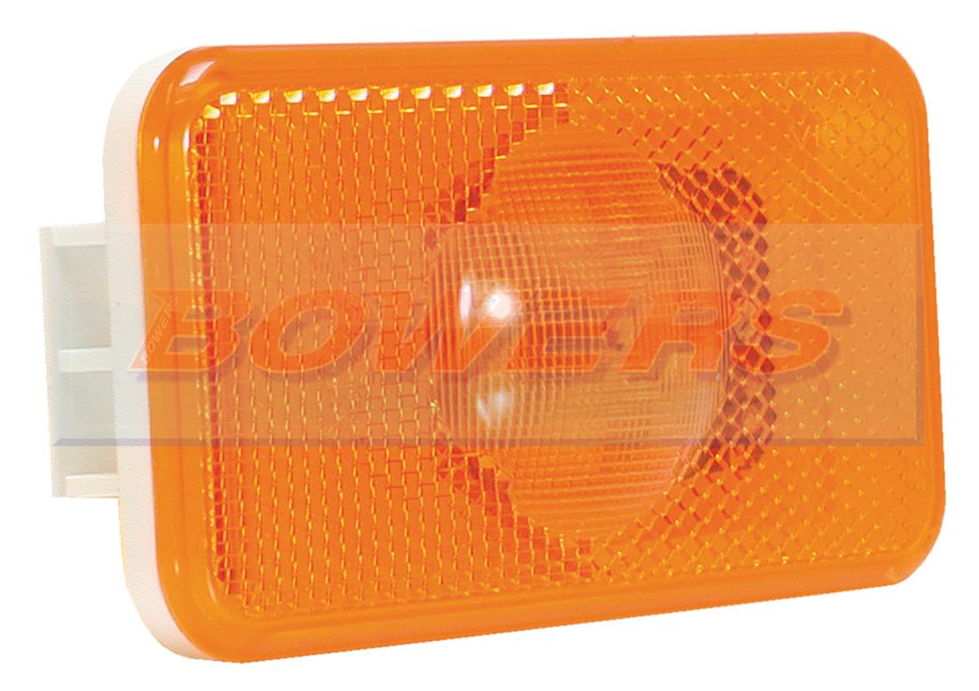 Genuine Vignal Smd00 24v Led Amber Side Marker Lamp Light