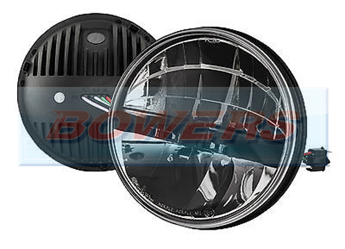 Lhd Truck Lite 27290c 7 Quot Inch Round Led Headlight Headlamp