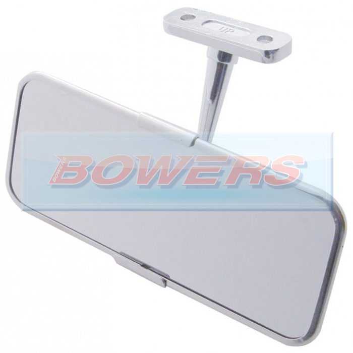 universal stainless steel classic or kit car interior rear view mirror. Black Bedroom Furniture Sets. Home Design Ideas