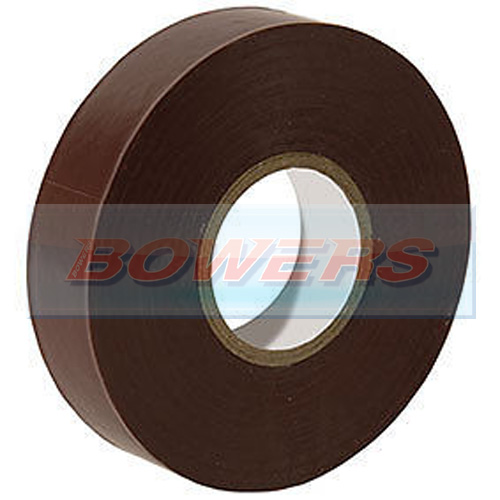 Brown Insulation/PVC Tape 19mm x 20m