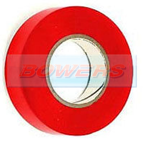 Red Insulation/PVC Tape 19mm x 20m