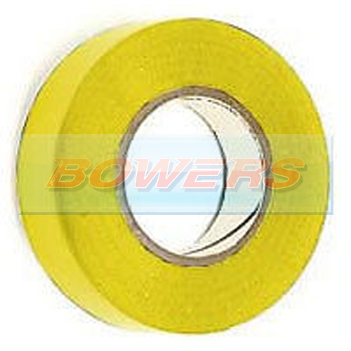 Yellow Insulation/PVC Tape 19mm x 20m