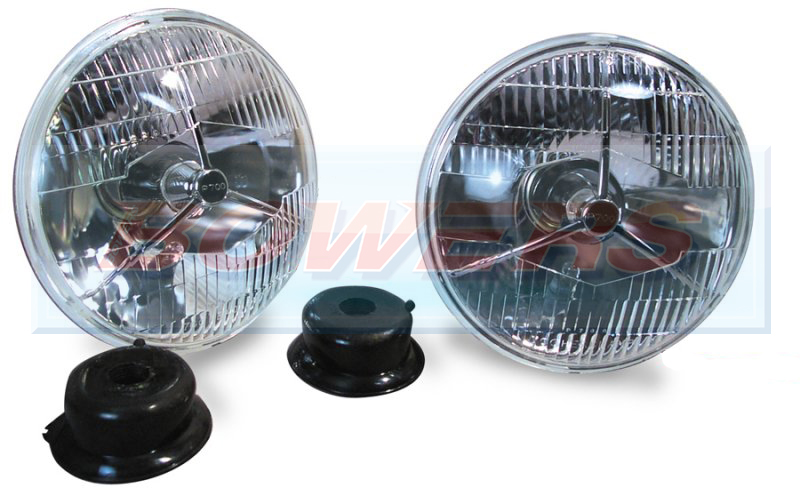 Lucas P700 Style 7 Quot Tripod Sealed Beam Headlights