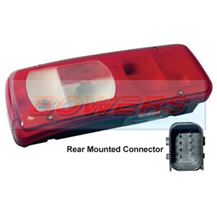 Genuine Vignal 155130 LC8 Rear Left Hand Nearside Combination Tail Lamp/Light For DAF CF/XF 2012-> (Rear Connector)
