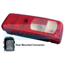 Genuine Vignal 155140 LC8 Rear Right Hand Offside Combination Tail Lamp/Light For DAF CF/XF 2012-> (Rear Connector)
