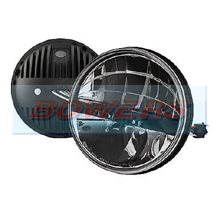"Truck-Lite 27291C 7"" Inch Round LED Headlight/Headlamp"