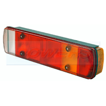 Rubbolite M461 Rear Offside Combination Tail Lamp Light Unit For Scania Volvo Commercial Vehicles