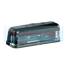 Black Number Plate Lamp/Light For Classic Cars (Mini/Land Rover Defender)