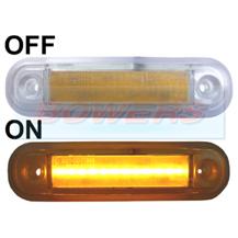 12v 24v surface mount red led rear marker lamp light. Black Bedroom Furniture Sets. Home Design Ideas