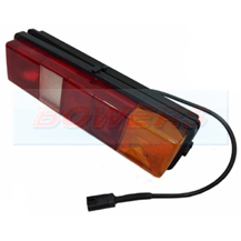 Rubbolite Rear Combination Tail Lamp/Light Unit For Ford Transit Tipper/Luton Box Van