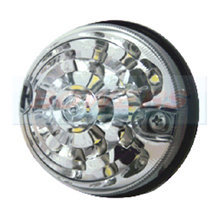 Land Rover Defender 73mm Front LED Clear Side Light Upgrade RDX/Wipac