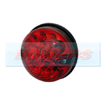 Land Rover Defender 73mm Rear LED Red Stop/Tail Light Upgrade RDX/Wipac