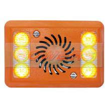 12v/24v Vehicle Turning Left LED Sideminder Turnsafe Warning Alarm For Cyclists