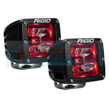 Rigid Industries Radiance LED Pods With Red Back Lighting