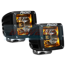 Rigid Industries Radiance LED Pods With Amber Back Lighting