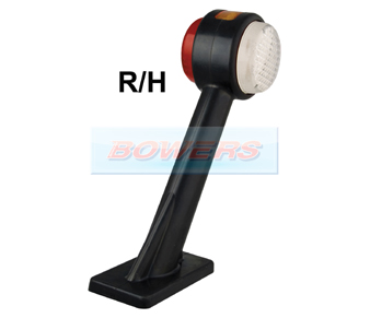 LED Autolamps 1005RE RH Stalk Marker Lamp