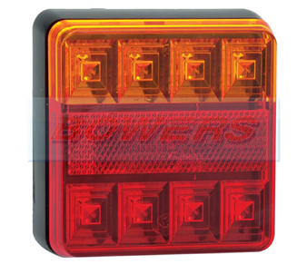 LED Autolamps 101BAR Square Rear Combination Light