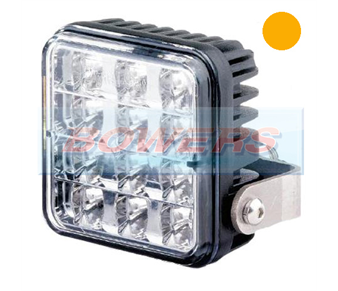 Trucklite 155/03/00 Varipod 12v/24v LED Amber Strobe/Warning/Hazard Lamp/Light 155/03/00