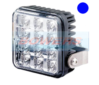 Trucklite 155/13/00 Varipod 12v/24v LED Blue Strobe/Warning/Hazard Lamp/Light 155/13/00