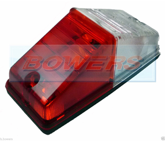 Vignal 181000 FE81 Red/Clear Marker Light