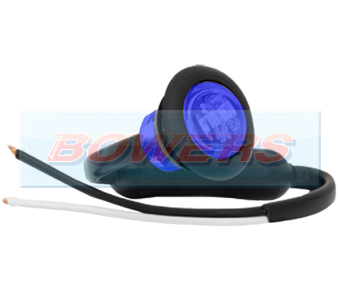 Blue LED Button Marker Lamp