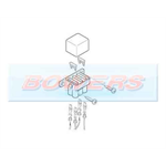 Eberspacher Heater Fuse Holder Assembly & Cover 221000310600