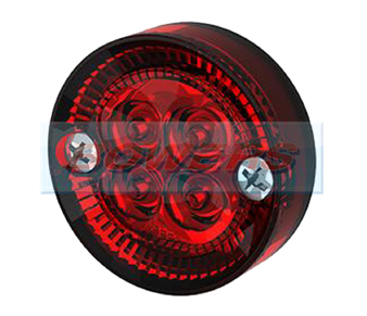 SIM 3194 Round LED Red Rear Marker Light
