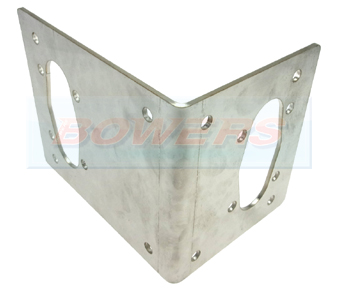Eberspacher/Webasto Heater Stainless Steel Mounting Bracket/Plate 41C0016 4116353A