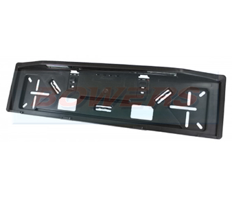Rubbolite M647 Number Plate Holder With LED Lights