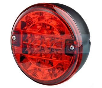 Truck-Lite 810 LED Rear Hamburger Fog Lamp/Light