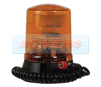 Magnetic Airport Static Flashing Amber Beacon