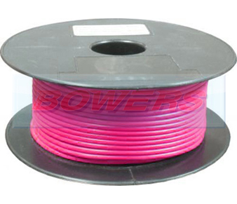 Pink Single Core Cable 14/0.30mm 1.0mm² 50m Roll BOW9070000KK