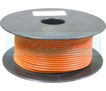 Orange Single Core Cable 14/0.30mm 1.0mm² 50m Roll BOW9070000TT