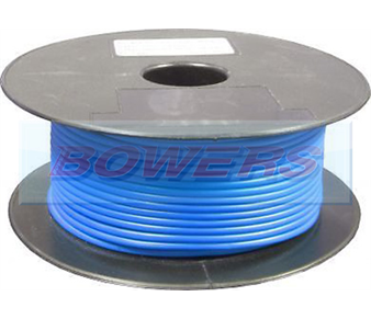 Blue Single Core Cable 14/0.30mm 1.0mm² 50m Roll BOW9070000UU