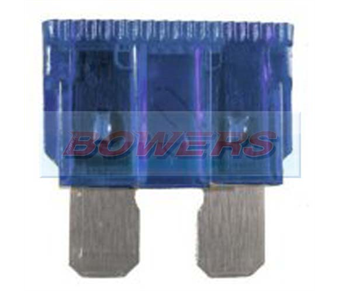 Standard Blade Fuse 10pk 15amp Blue BOW9071003.15