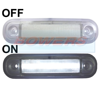 BOW9989260 White LED Marker Light
