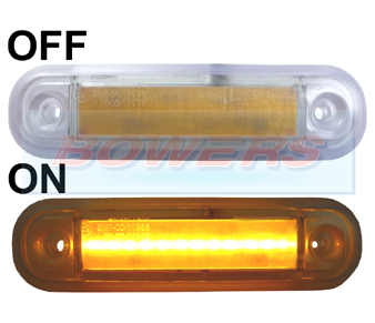 BOW9989261 Amber LED Marker Light