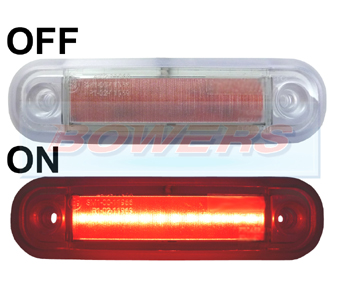 BOW9989262 Red LED Marker Light