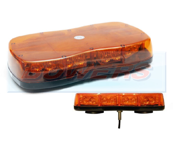 Single Point Mini LED Amber Lightbar