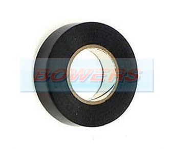 Black Insulation/PVC Tape 19mm x 20m BOW9994020
