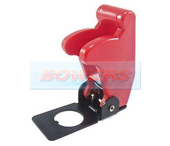 Red Aircraft/Missile Style Toggle Switch Cover BOW9996110