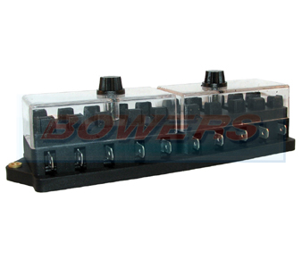 10 Way Standard Blade Fuse Box BOW9997074