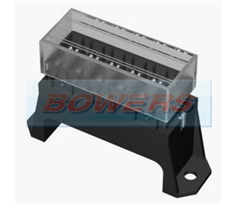 6 Way Base Entry Standard Blade Fuse Box BOW9997080