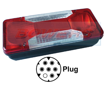 Rear Nearside Combination Tail Lamp Light Unit For Iveco Daily Tipper 2006 Onwards