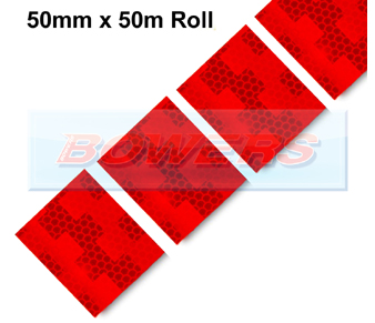 Avery Dennison Red Conspicuity Tape Flexible